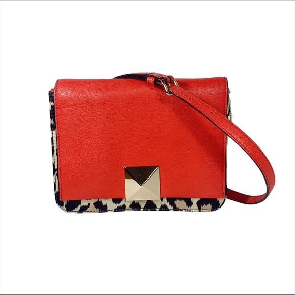 KATE SPADE leopard print small crossbody bag NWOT